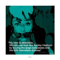 Audrey Hepburn- Attainable Fine-Art Print