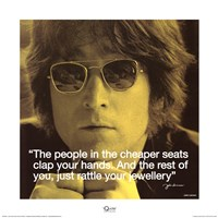 John Lennon- Clap Your Hands Fine-Art Print
