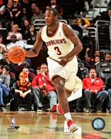 Dion Waiters Dribbling The Basketball Fine-Art Print