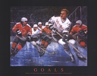 Hockey - Goals Fine-Art Print