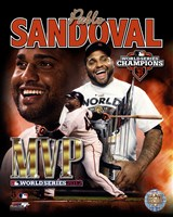 Pablo Sandoval 2012 World Series MVP Portrait Plus Fine-Art Print
