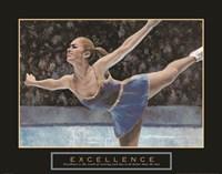 Excellence - Ice Skater Fine-Art Print
