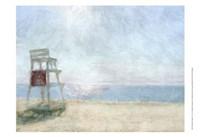 Beach Lookout I Fine-Art Print