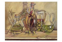 Olive Oil Bottles Fine-Art Print