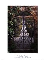 Garden Gate - Filoli, CA Fine-Art Print