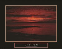 Vision - Crimson Morning Fine-Art Print