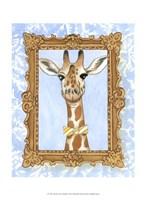 Teacher's Pet - Giraffe Fine-Art Print