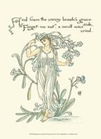 Shakespeare's Garden VII (Forget me not) Fine-Art Print