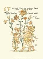 Shakespeare's Garden VIII (Lily) Fine-Art Print