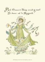 Shakespeare's Garden X (Daisy) Fine-Art Print