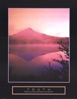 Truth - Misty Mountain Fine-Art Print