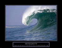 Integrity - Wave Fine-Art Print