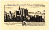 Vintage Alnwick Castle Fine-Art Print