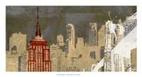 Modern Metropolis II Fine-Art Print