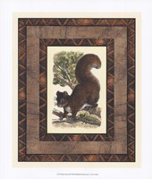 Rustic Squirrel Fine-Art Print