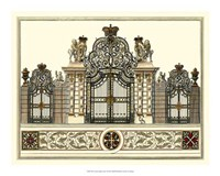 The Grand Garden Gate I Fine-Art Print