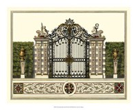 The Grand Garden Gate II Fine-Art Print