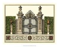The Grand Garden Gate III Fine-Art Print