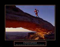 Challenge-Runner Fine-Art Print