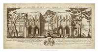 View of Roche-Abbey Fine-Art Print