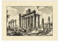 Vintage Roman Ruins I Fine-Art Print