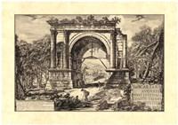 Vintage Roman Ruins II Fine-Art Print