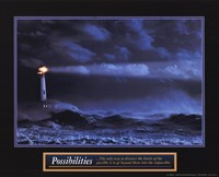 Possibilities - Lighthouse Fine-Art Print