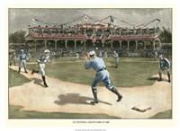 National League Game 1886 Fine-Art Print