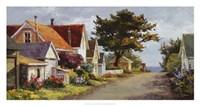 Sunlit Side Street Fine-Art Print