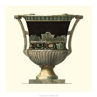 Crackled Large Giardini Urn I Fine-Art Print