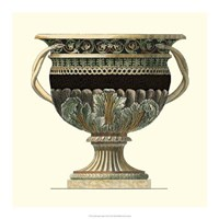Crackled Large Giardini Urn II Fine-Art Print