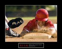 Risk-Baseball Fine-Art Print