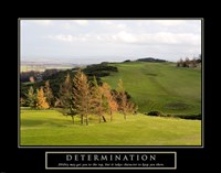 Determination-Golf Fine-Art Print