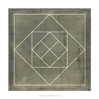 Geometric Blueprint V Fine-Art Print