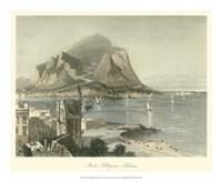 Monte Pellegrino, Palermo Fine-Art Print