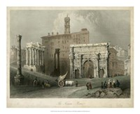 The Forum- Rome, Italy Fine-Art Print