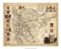 Map of Cambridge Fine-Art Print