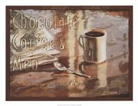 Coffee, Men, Chocolate Fine-Art Print