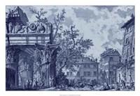 Antique Blue View I Fine-Art Print
