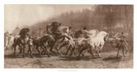 Horse Fair Fine-Art Print