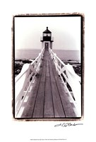 Marshall Point Light, Maine Fine-Art Print