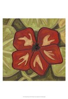Vibrant Rainforest III Fine-Art Print