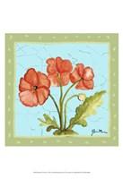Whimsical Flowers II Fine-Art Print