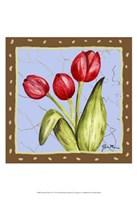 Whimsical Flowers IV Fine-Art Print