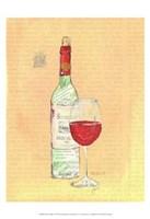 Wine Collage II Fine-Art Print