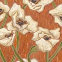 Persimmon Floral I Fine-Art Print