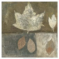 Neutral Leaves I Fine-Art Print