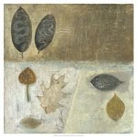 Neutral Leaves III Fine-Art Print