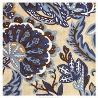 Custom Indigo Tapestry I Fine-Art Print