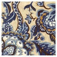 Custom Indigo Tapestry II Fine-Art Print